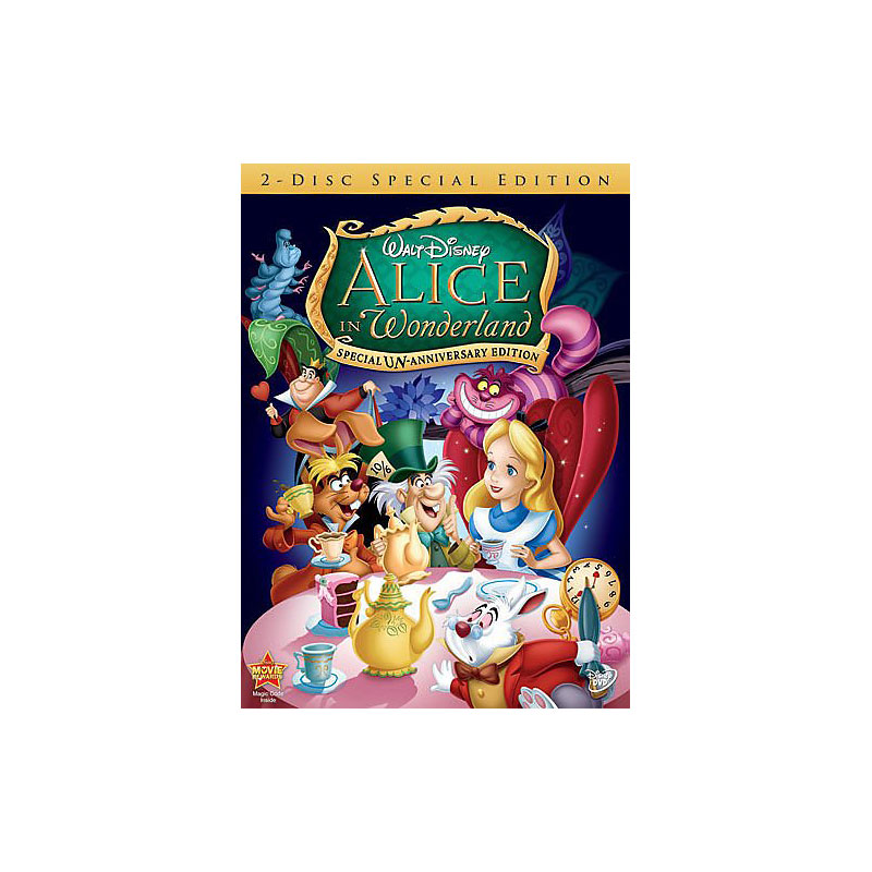 Alice in Wonderland: Special Edition - DVD