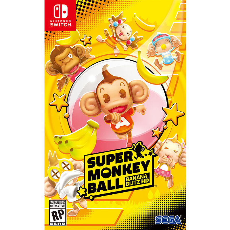 PRE-ORDER: Nintendo Switch Super Monkey Ball: Banana Blitz HD