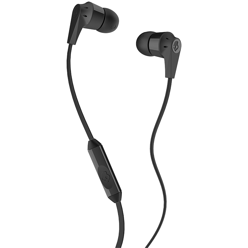 Skullcandy Ink'd 2.0 Earbuds with Mic - Black - SCS2IKDY003