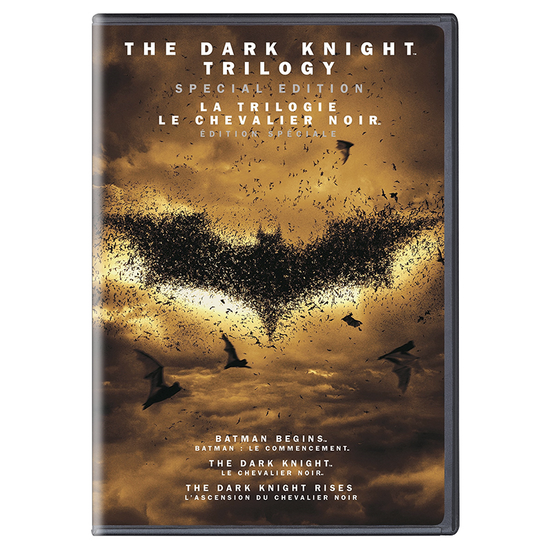 The Dark Knight Trilogy (Special Edition) - DVD