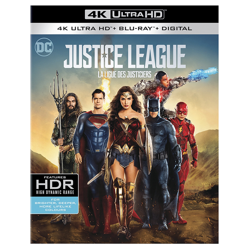 Justice League - 4K UHD Blu-ray
