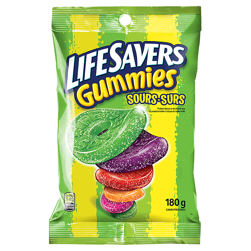 Lifesavers Gummies - Sour - 180g