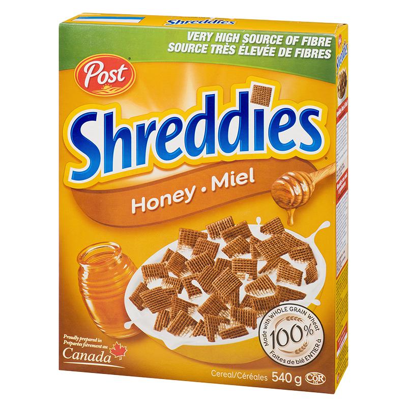 Post Shreddies Cereal - Honey - 540g
