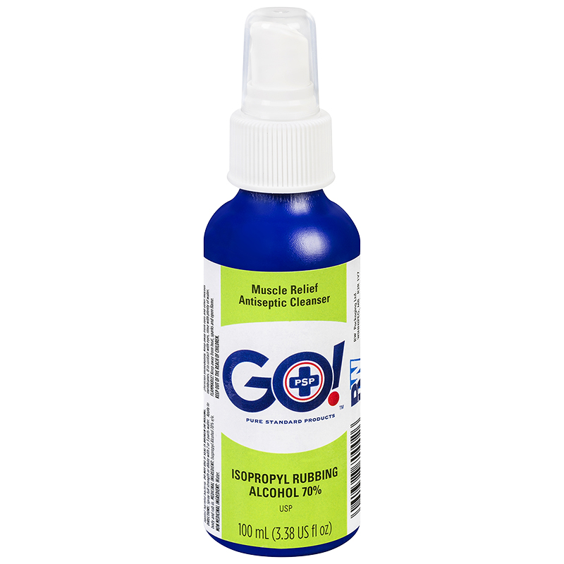 PSP GO Isopropyl Rubbing Alcohol 70% - 100ml