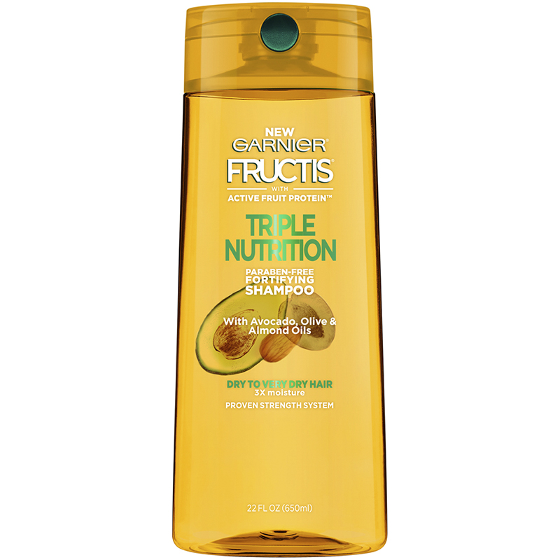 Garnier Fructis Triple Nutrition Shampoo - 650ml