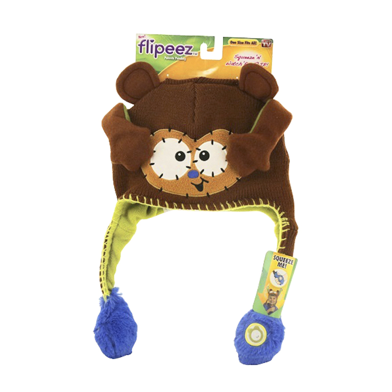 Flipeez Hat Monkey - One Size