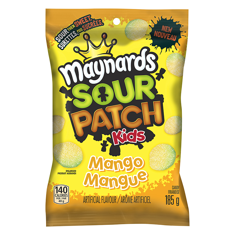 Maynards Sour Patch Kids - Mango - 185g