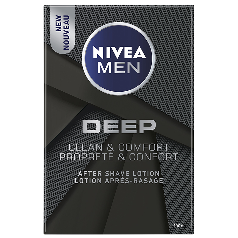 Nivea Men Deep After Shave Lotion - Clean & Comfort - 100ml