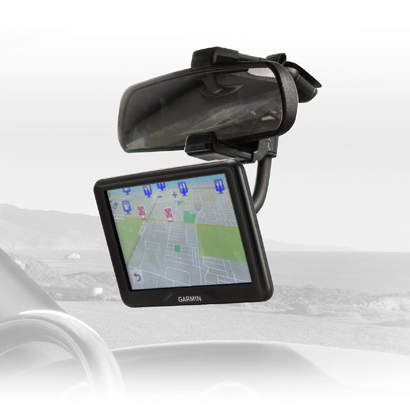 Scosche MagicMount Rearview Mount - Black - SCMAGRVM2I