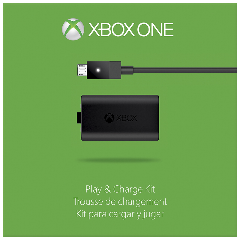 Xbox One Play and Charge Kit - S3V-00001