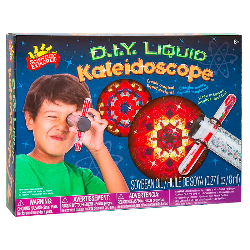DIY Liquid Kaleidoscope