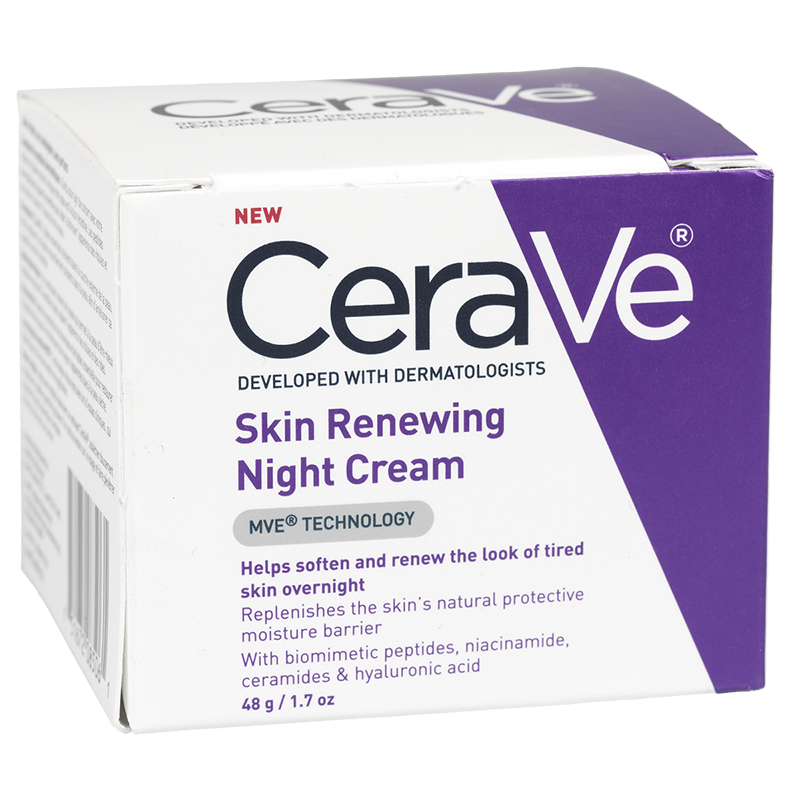 CeraVe Skin Renewing Night Cream - 48g