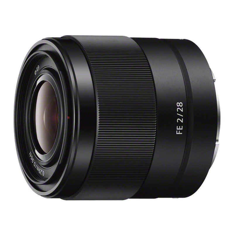 Sony FE 28mm F2 Full-frame E-mount Prime Lens - Black - SEL28F20