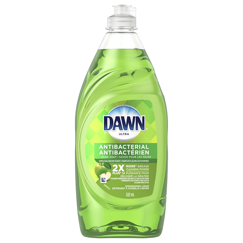 Dawn Antibacterial Dishwashing Liquid - Apple Blossom - 532ml