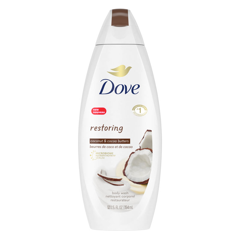Dove Purely Pampering Body Wash - Coconut Milk with Jasmine Petals - 354ml