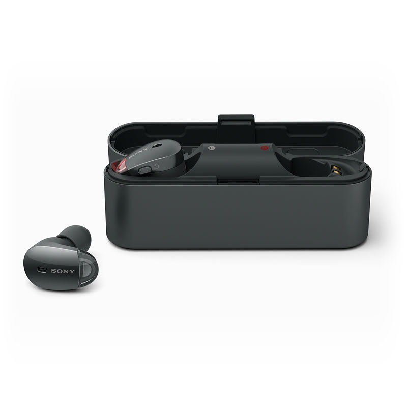 Sony Bluetooth Noise-Cancelling True Wireless Earbuds - Black - WF1000XB