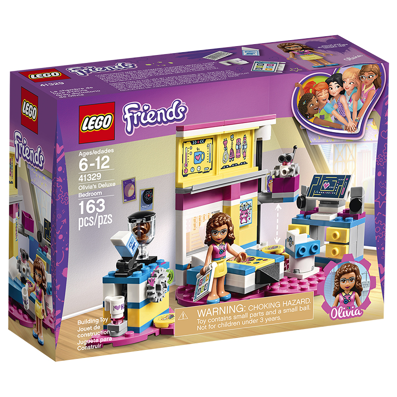 LEGO® Friends - Olivia's Deluxe Bedroom