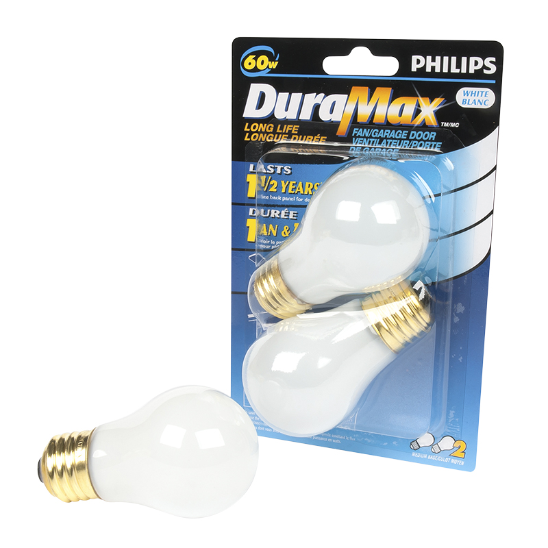 Philips Incandescent Fan/Garage A15 Bulb - Clear - 60w