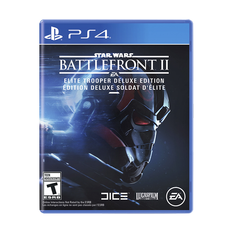 PS4 Star Wars Battlefront 2 Deluxe
