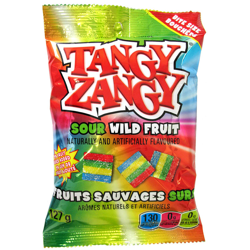 Tangy Zangy Belt  - Sour Wild Fruit - 127g