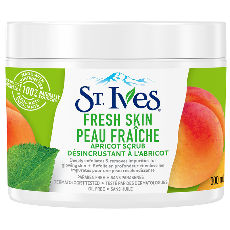 St. Ives Fresh Skin Exfoliating Apricot Facial Scrub - 300ml