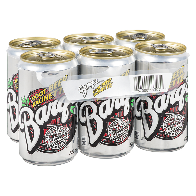 Barq's Root Beer - 6 X 222ml