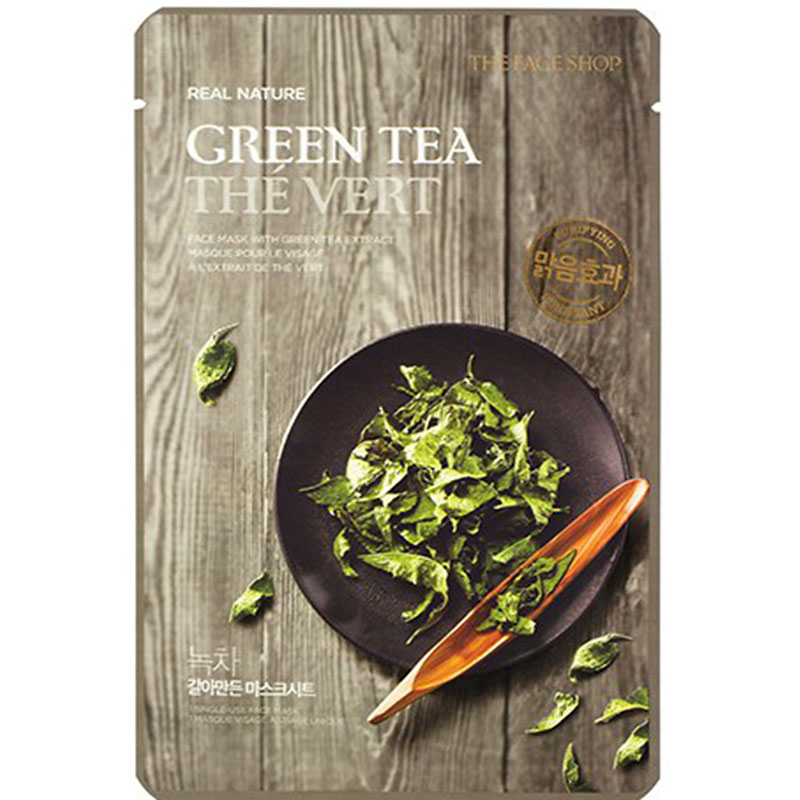 Real Nature Face Mask - Green Tea - 20g