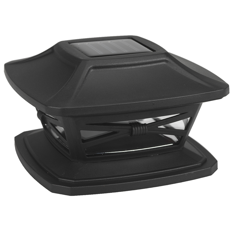 Fusion Solar Post Cap - Black - 24775
