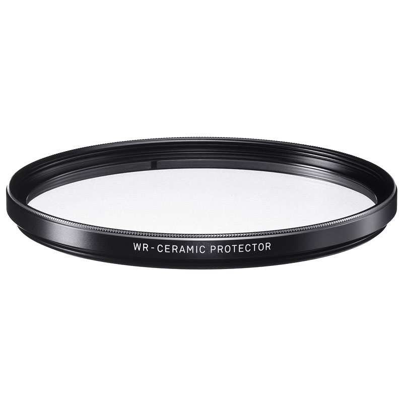 Sigma WR Clear Glass Ceramic Protector Filter - 77mm - S77WRCLP