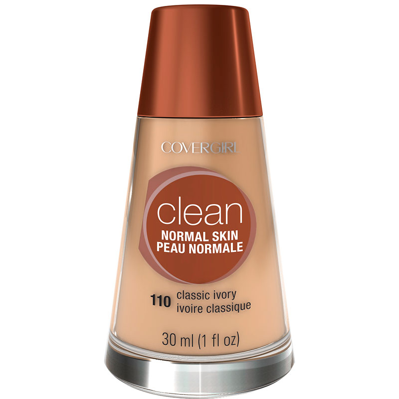 CoverGirl Clean Liquid Makeup for Normal Skin - Classic Ivory