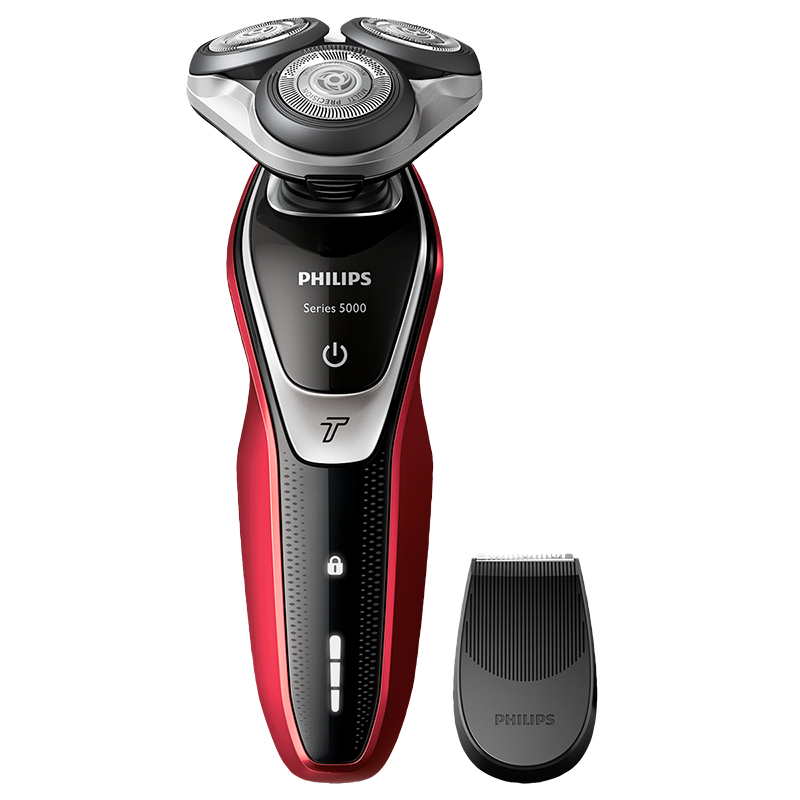 Philips Shaver Series 5000 Wet & Dry Electric Shaver - Red - S5371/08