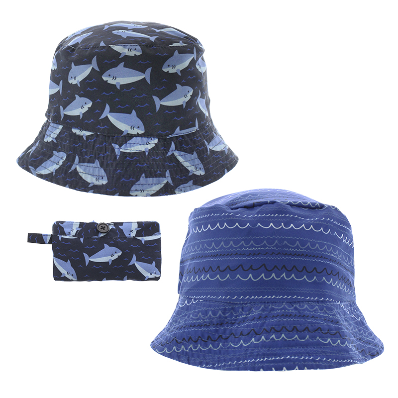 Densley Boy's Shark Bucket Hat