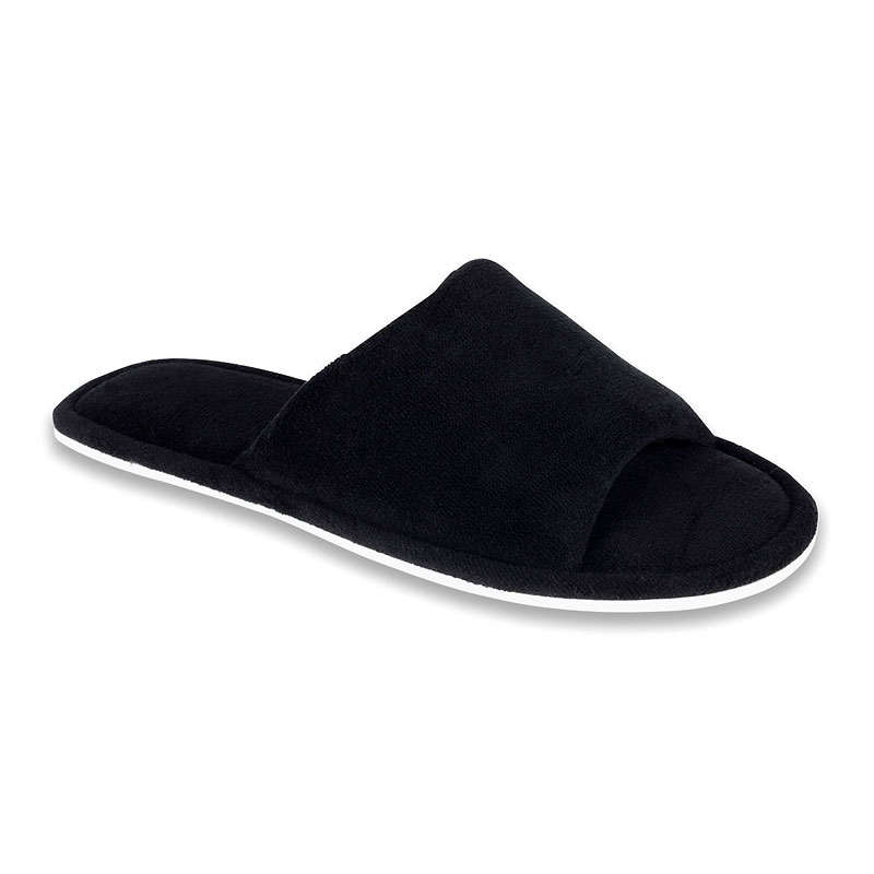 Isotoner Microterry Slide Slipper