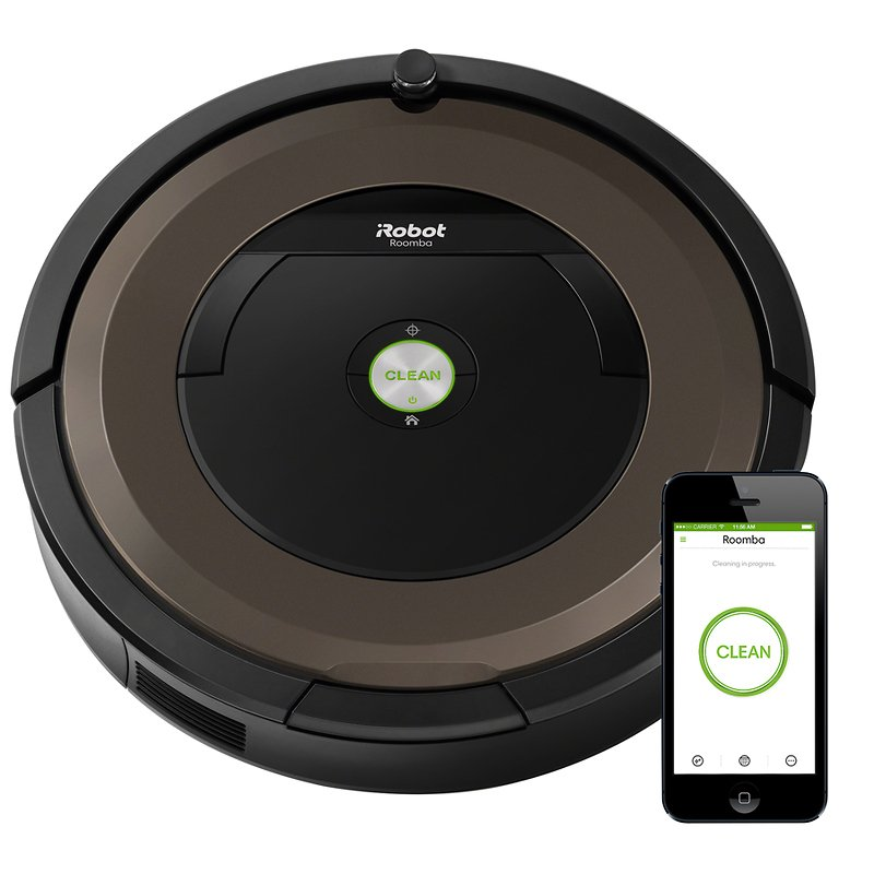 iRobot® Roomba® 890 Wi-Fi Connected Robot Vacuum - R890020