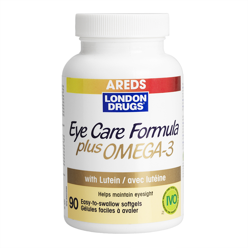 London Drugs AREDS Eye Care Formula plus Omega - 90's