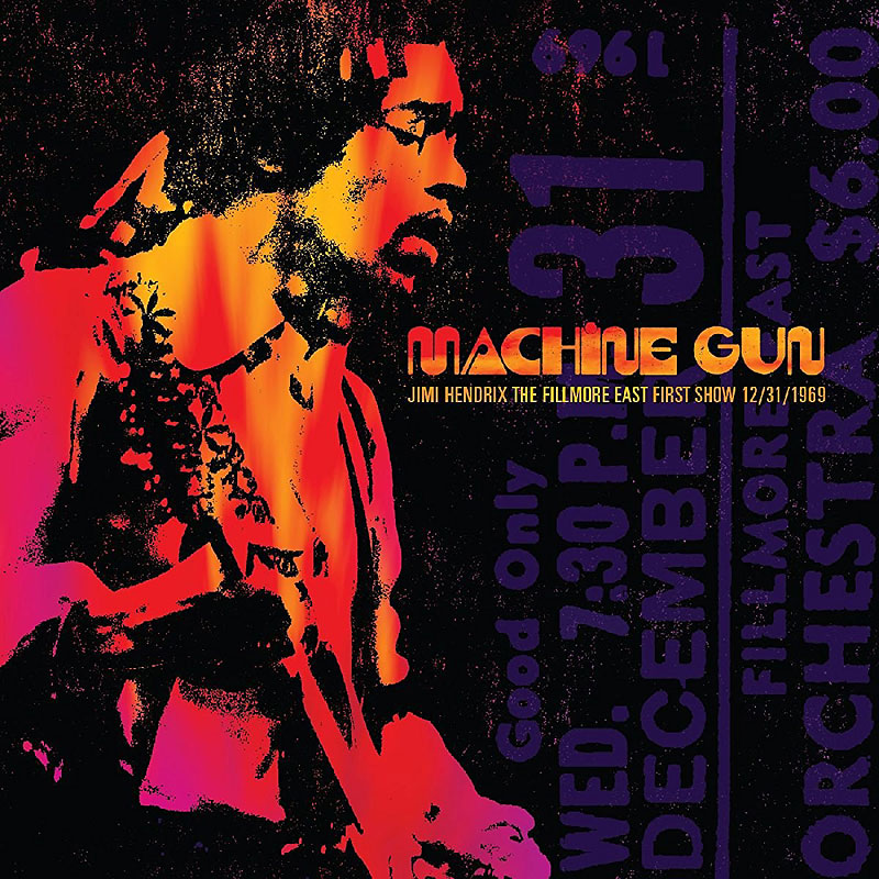 Jimi Hendrix - Machine Gun - CD