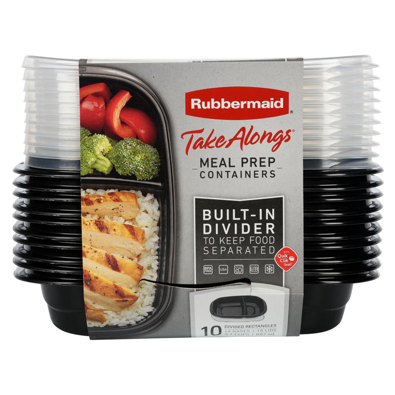 Rubbermaid TakeAlong Meal Prep - 20 piece