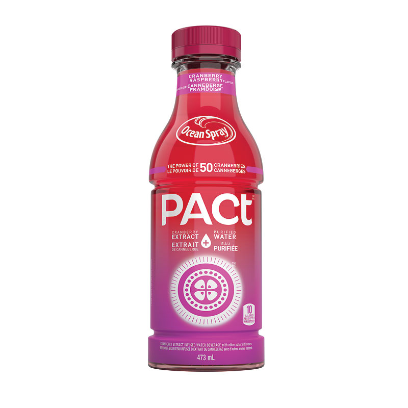 Ocean Spray Pact Cranberry Raspberry - 473ml
