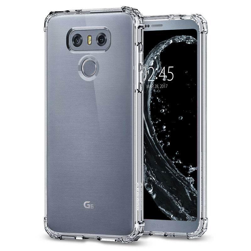 Spigen Crystal Shell for LG G6 - Crystal Clear - SGPA21CS21241