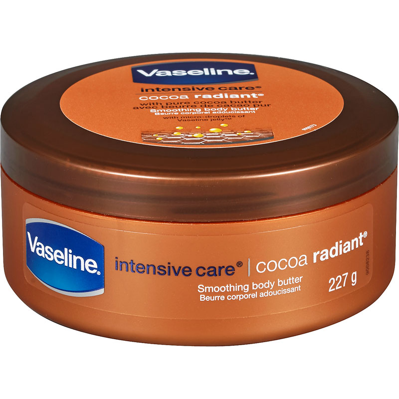 Vaseline Intensive Care Cocoa Radiant Smoothing Body Butter with Pure Cocoa Butter - 227g