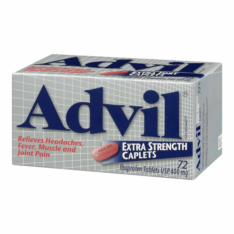 Advil Ibuprofen Extra Strength - 72's