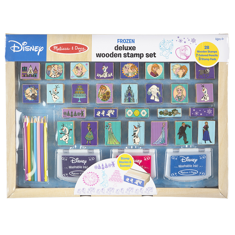 Melissa & Doug Disney Frozen Stamp Set