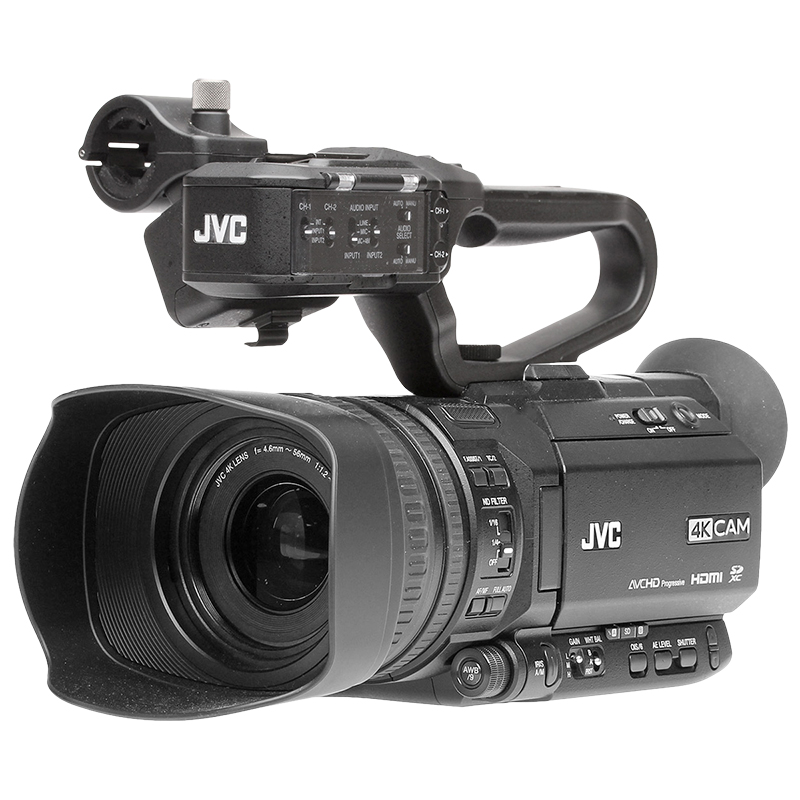 JVC Sports Production Live Streaming 4K Camcorder - GY-HM250SP