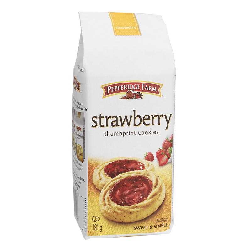 Pepperidge Farm Strawberry Thumbprint Cookie - 191g