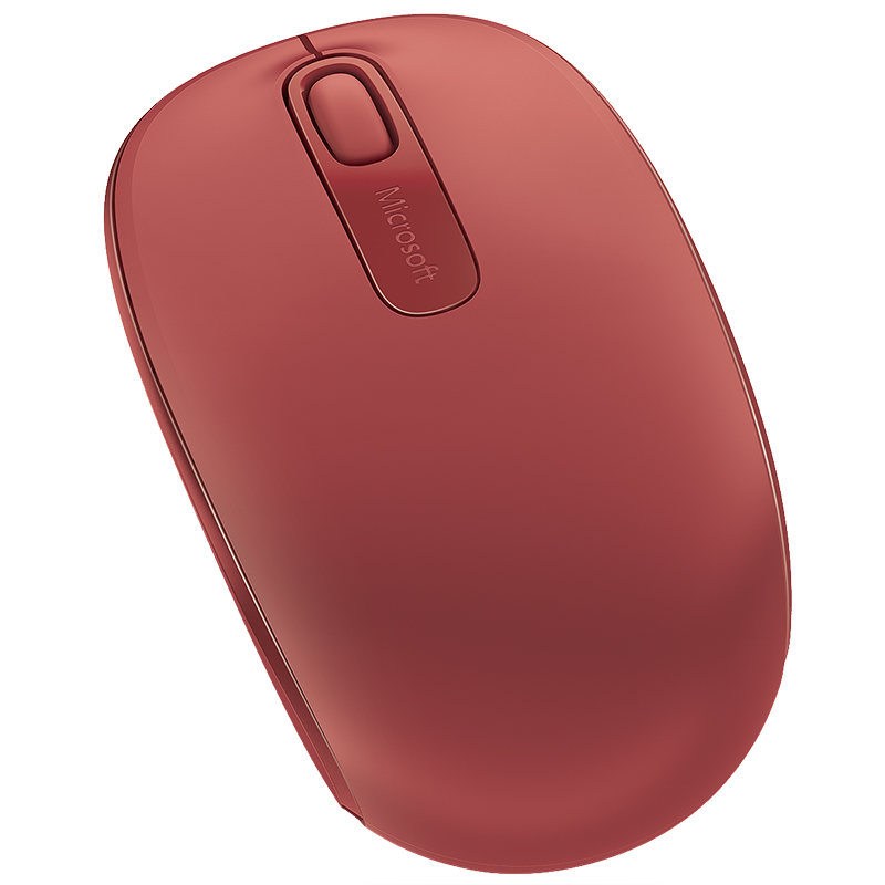 Microsoft Wireless Mobile Mouse 1850 - Red - U7Z-00032