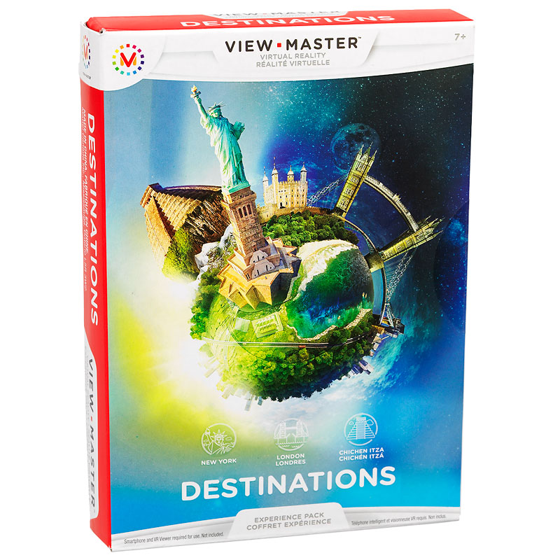 View-Master- Virtual Reality Experience Pack - Destinations