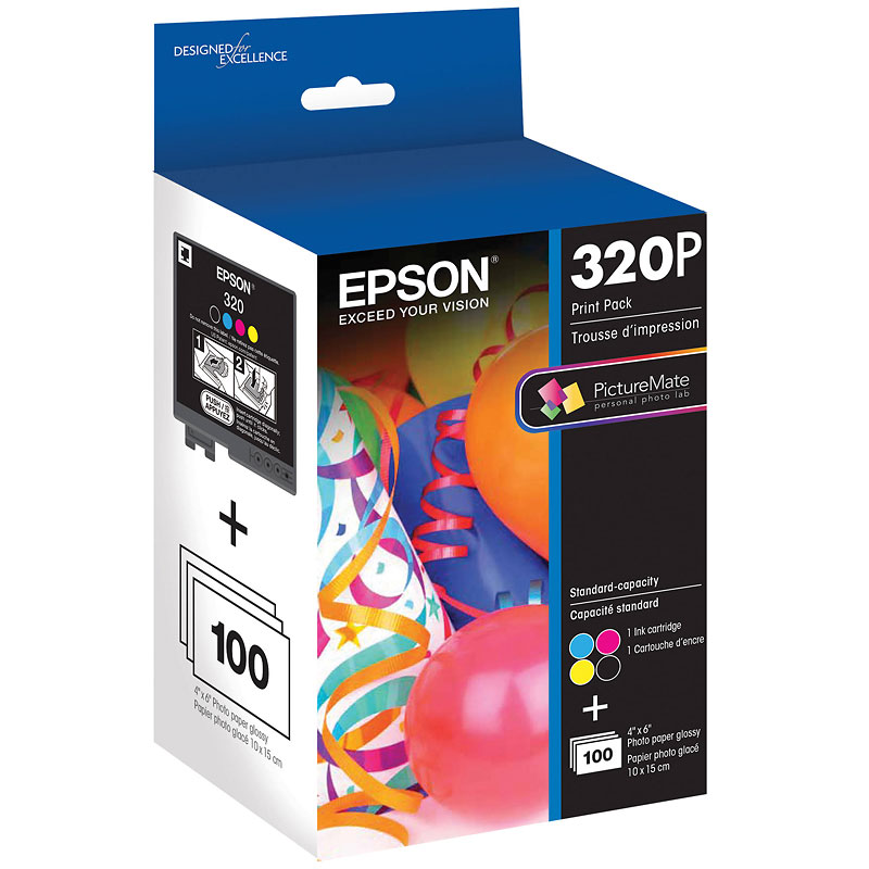 Epson PictureMate 400 Series Print Pack - T320P