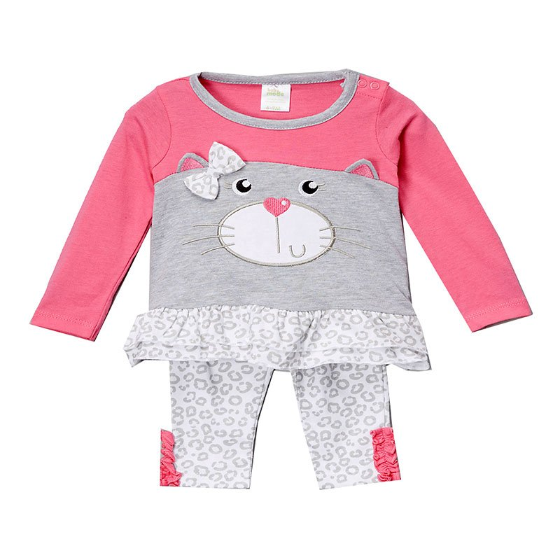 Baby Mode Dog and Cat Jersey Legging Set - Assorted Sizes