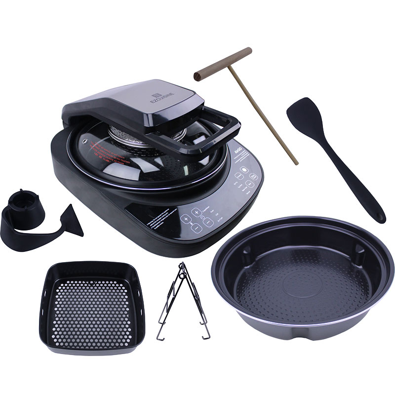 AirGo 5-in-1 Cooking System 4L - Black & Silver - AP360