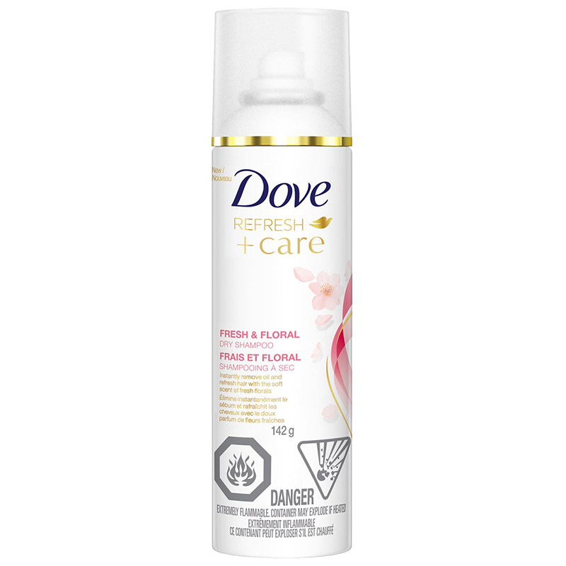 Dove Refresh +Care Dry Shampoo - Fresh & Floral - 142g
